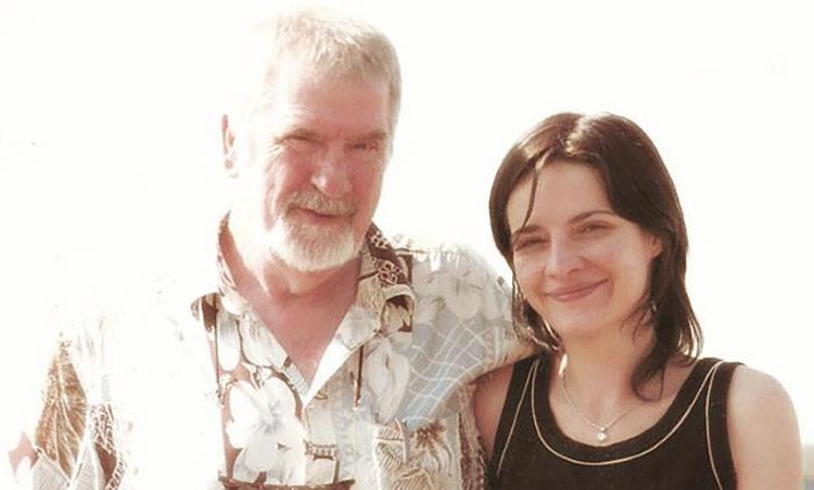 Kerekes Andrea és Peter Orban közös fotója